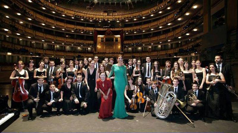 La Barbieri Symphony Orchestra en el Teatro Real
